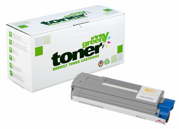 Rebuilt Toner Kartusche für: Oki 43865721 8000 Seiten