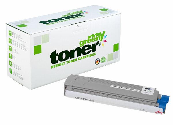 Rebuilt Toner Kartusche für: Oki 43487712 9000 Seiten