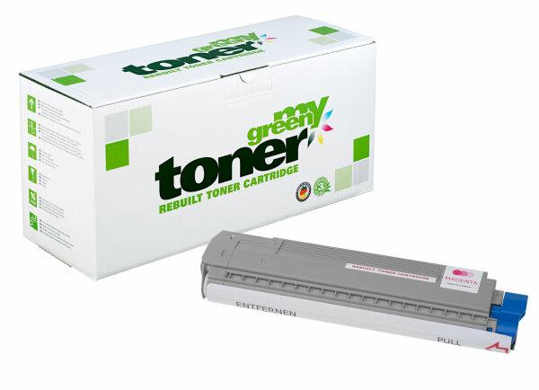 Rebuilt Toner Kartusche für: Oki 43487710 9000 Seiten