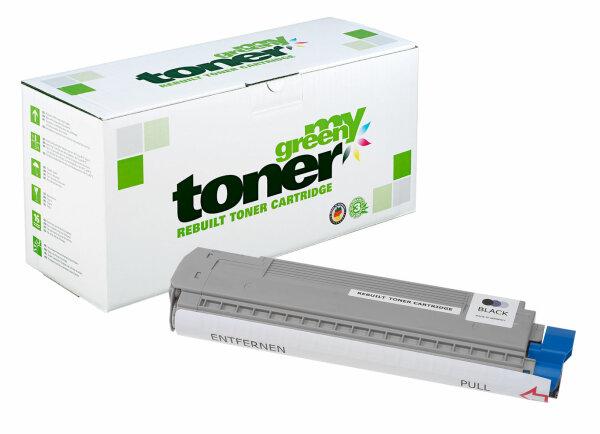 Rebuilt Toner Kartusche für: Oki 44059108 8000 Seiten
