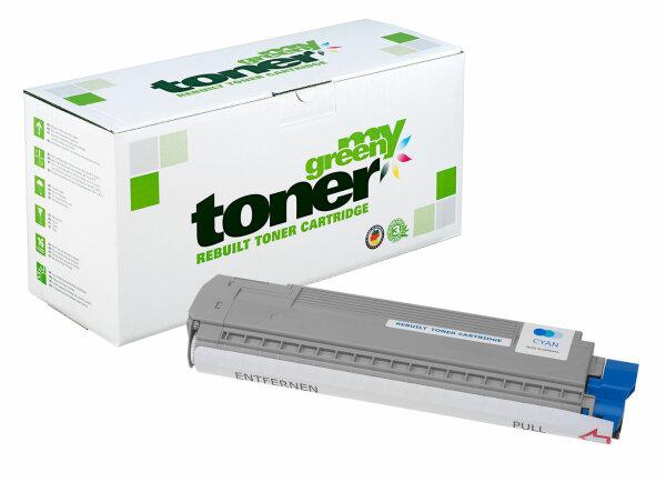 Rebuilt Toner Kartusche für: Oki 44059107 8000 Seiten