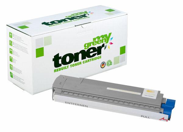 Rebuilt Toner Kartusche für: Oki 44643001 7300 Seiten