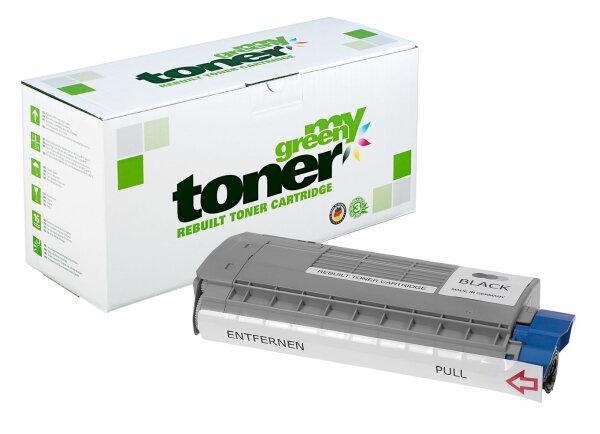 Rebuilt Toner Kartusche für: Oki 45396304 8000 Seiten