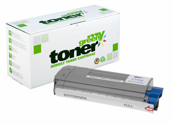 Rebuilt Toner Kartusche für: Oki 45396303 6000 Seiten