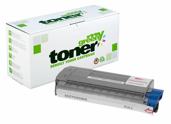 Rebuilt Toner Kartusche für: Oki 45396302 6000 Seiten