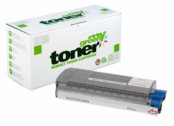 Rebuilt Toner Kartusche für: Oki 45396301 6000 Seiten