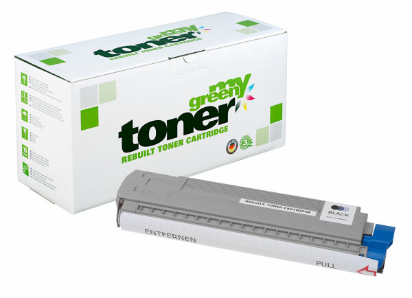 Rebuilt Toner Kartusche für: Oki 44059232 9000 Seiten