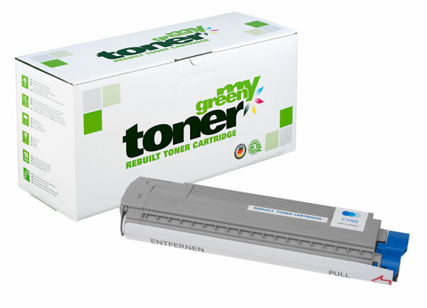 Rebuilt Toner Kartusche für: Oki 44059167 7300 Seiten