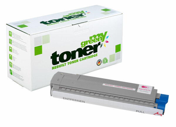 Rebuilt Toner Kartusche für: Oki 44059166 7300 Seiten