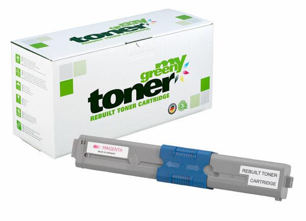 Rebuilt Toner Kartusche für: Oki 46508710 3000 Seiten