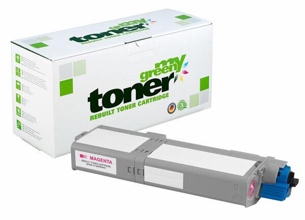 Rebuilt Toner Kartusche für: Oki 46490606 6000 Seiten