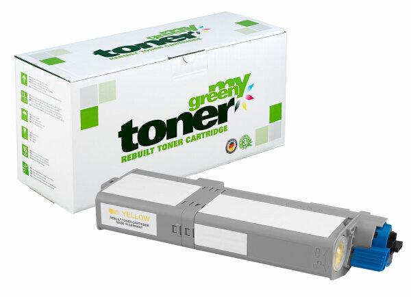 Rebuilt Toner Kartusche für: Oki 46490605 6000 Seiten