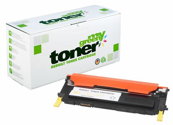 Rebuilt Toner Kartusche für: Samsung CLT-Y4092S/ELS 1500 Seiten