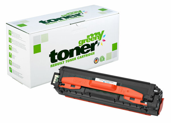 Rebuilt Toner Kartusche für: Samsung CLT-C504S/ELS 1800 Seiten