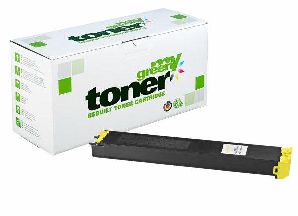 Rebuilt Toner Kartusche für: Sharp MX-23GTYA 10000 Seiten