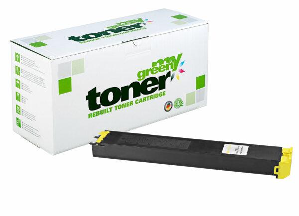Rebuilt Toner Kartusche für: Sharp MX-36GTYA 15000 Seiten