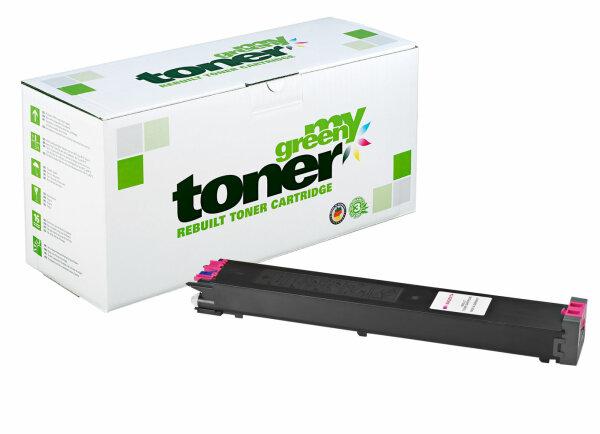 Rebuilt Toner Kartusche für: Sharp MX-27GTMA 15000 Seiten