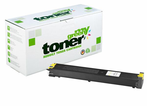 Rebuilt Toner Kartusche für: Sharp MX-27GTYA 15000 Seiten