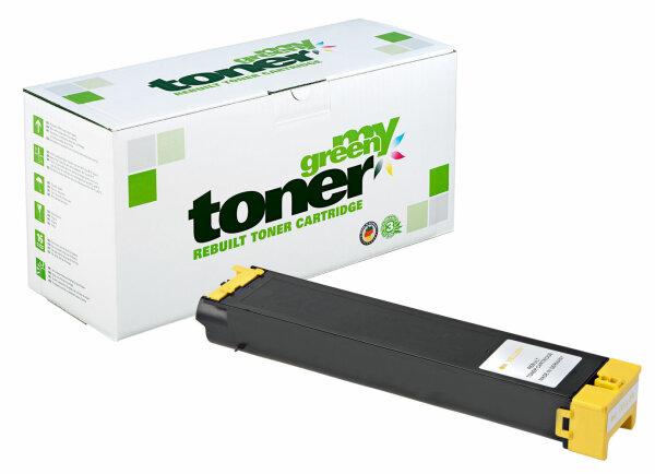Rebuilt Toner Kartusche für: Sharp MX-C38GTY 10000 Seiten