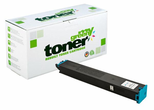 Rebuilt Toner Kartusche für: Sharp MX-61GTCA 24000 Seiten