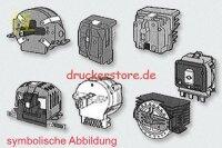 Brother M1824L Druckkopf Reparatur Printhead Repair