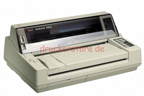 OKI Microline 390FB ML390FB 24Pin Nadeldrucker Flachbettdrucker Arztdrucker #029